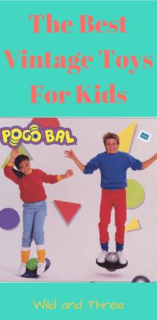 The best vintage toys for kids