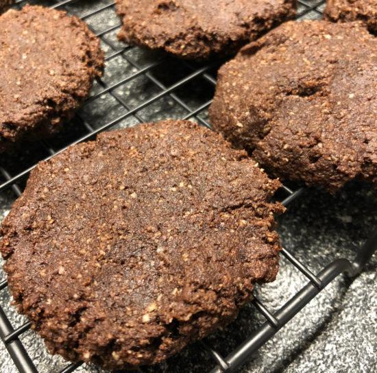 Dark Chocolate Ganache Cookies